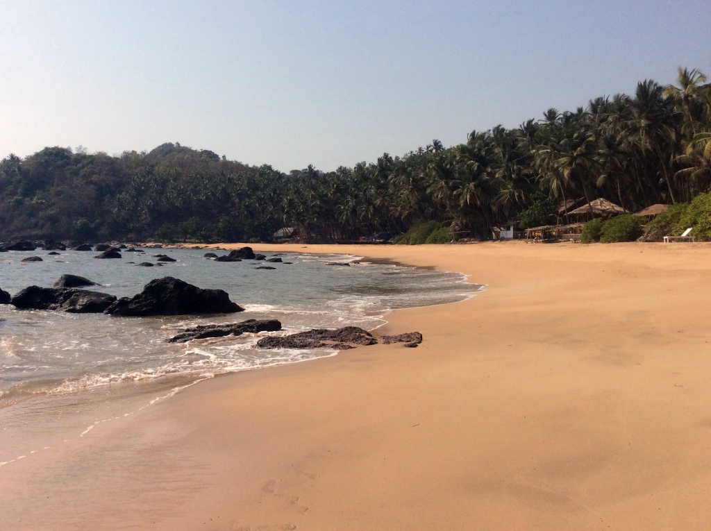 Goa cove scene
