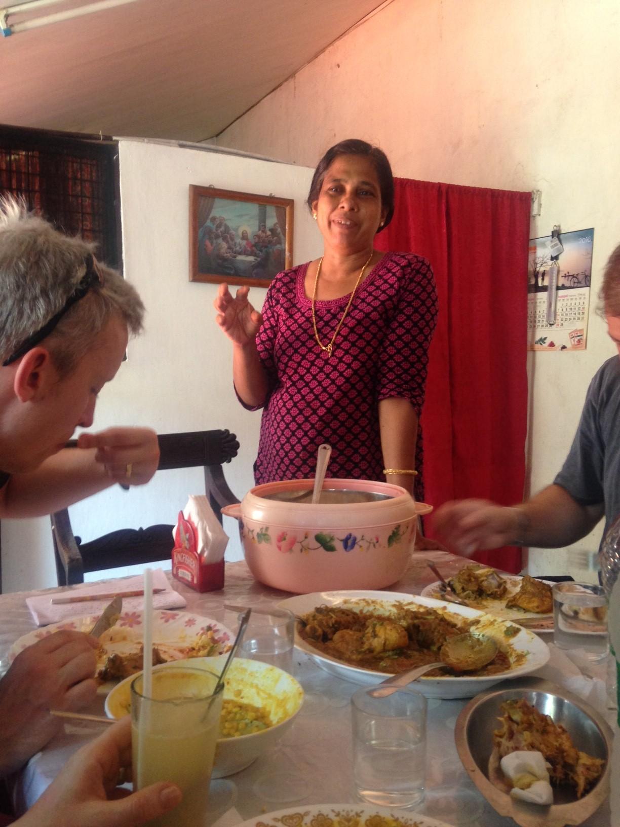 Kerala: Maria cookery