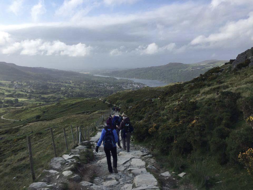 Snowdon descent